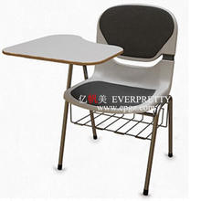 School Chair Attached with Table for University