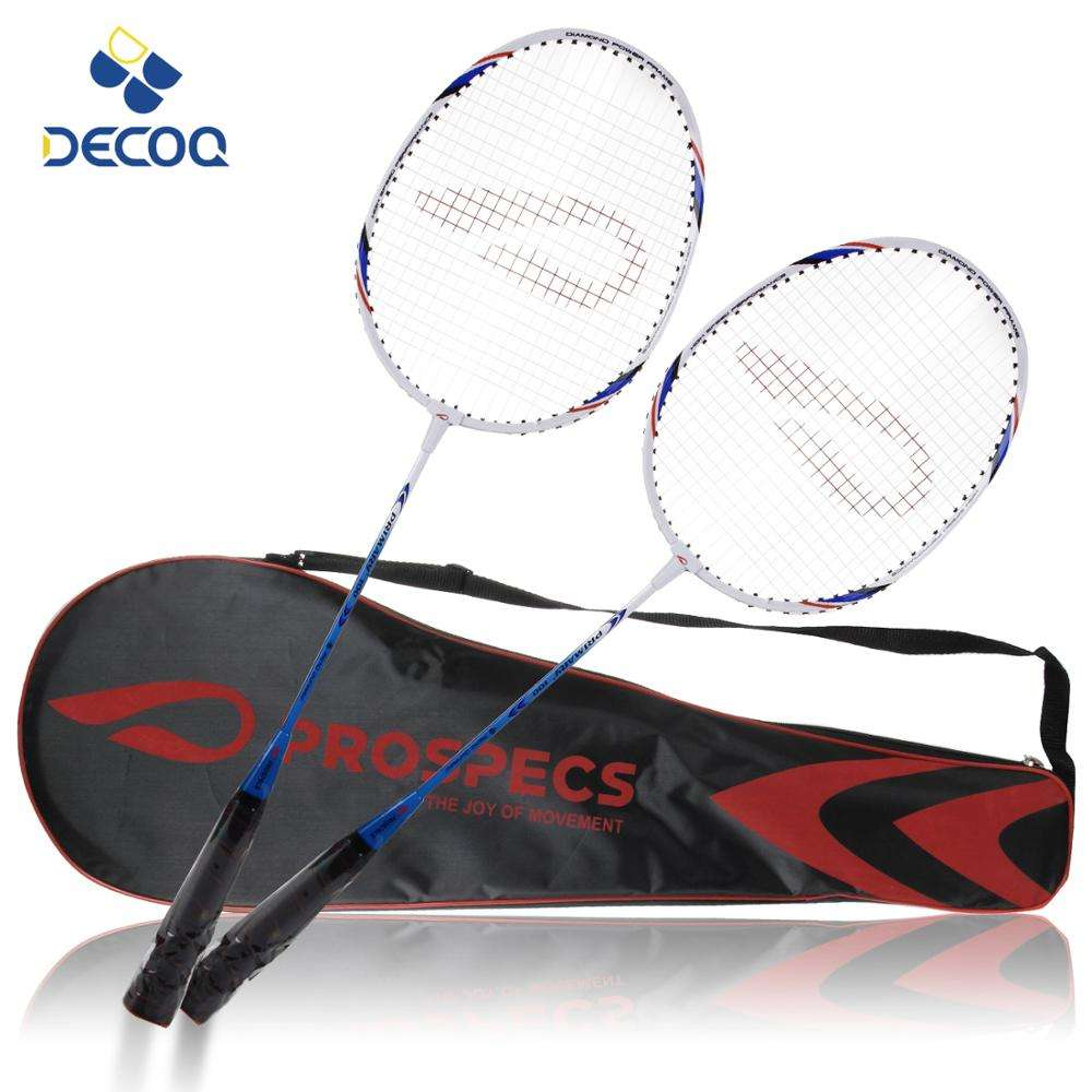 DECOQ Cheap Price Aluminium Steel Alloy Badminton Racket Hot Sales Badminton Racket For Indoor Paly