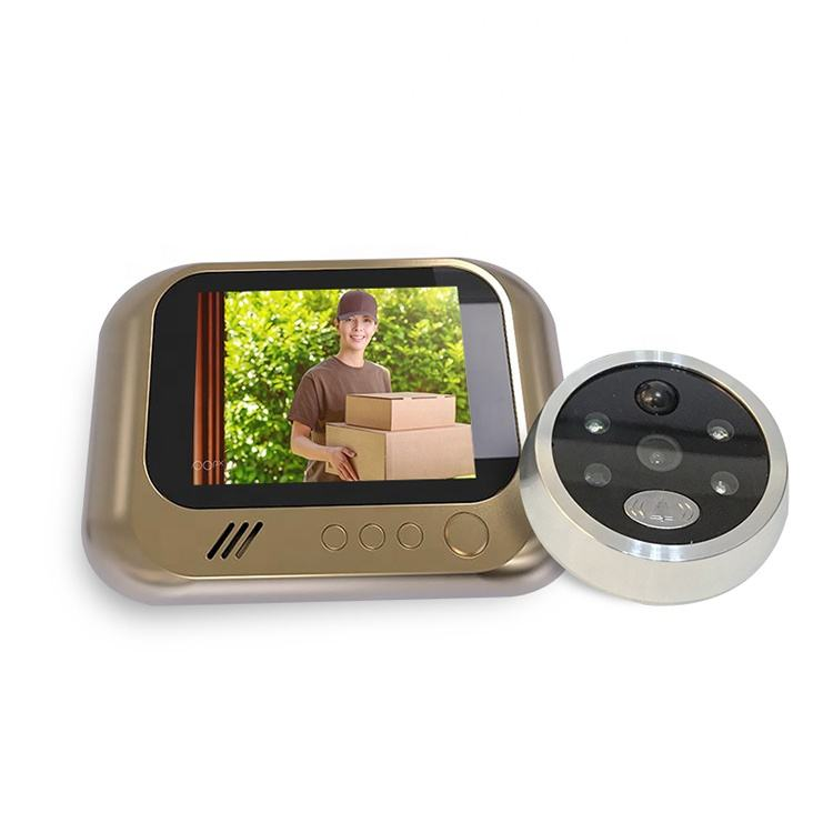3.2 inch LCD Display Motion Detection Digital Door Peephole Viewer with pir Night Vision