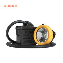 Wisdom corded LED underground mining lamp KL5M with Atex and MSHA approval