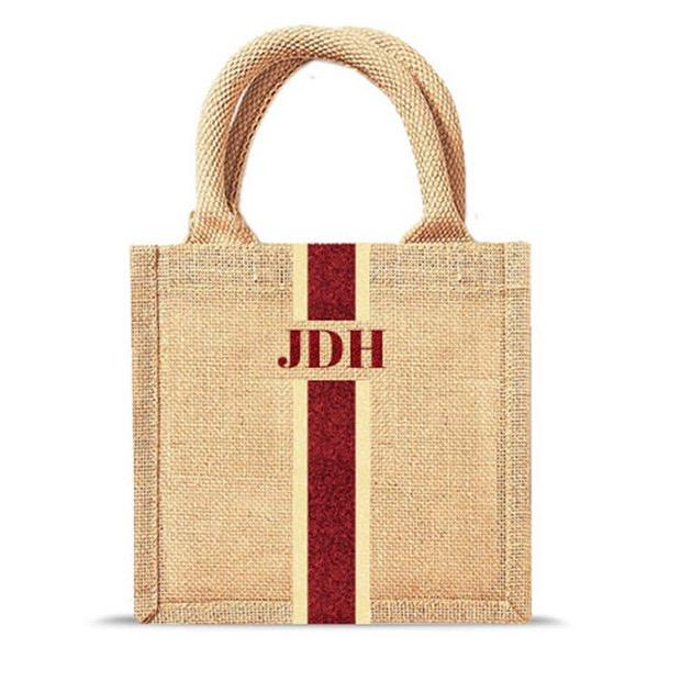 Recycle Favored Durable Jute Burlap Shopping Hand Bag Women Tote