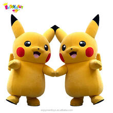 Professional cartoon character pokemon mascot costume For Adults