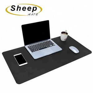 Wholesale waterproof PVC leather office padded protector computer keyboard desk mat