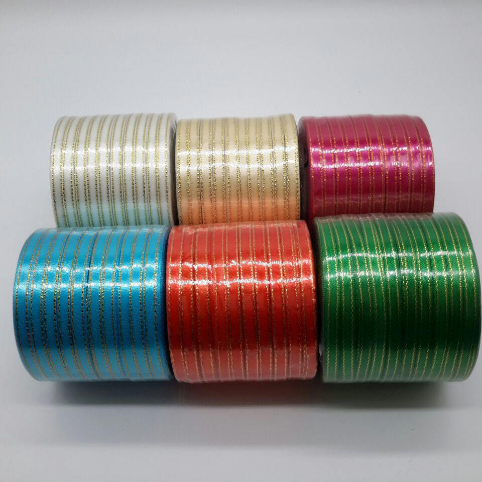 Choice of 11 Colours 6mm Budget Grosgrain Ribbon 20m Reel