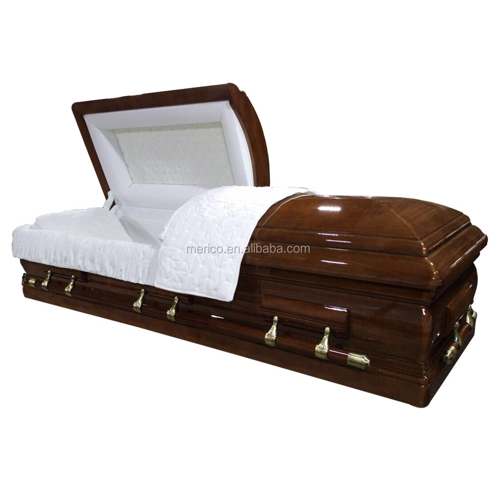 DEMILLE funeral casket and wooden coffin made in china
