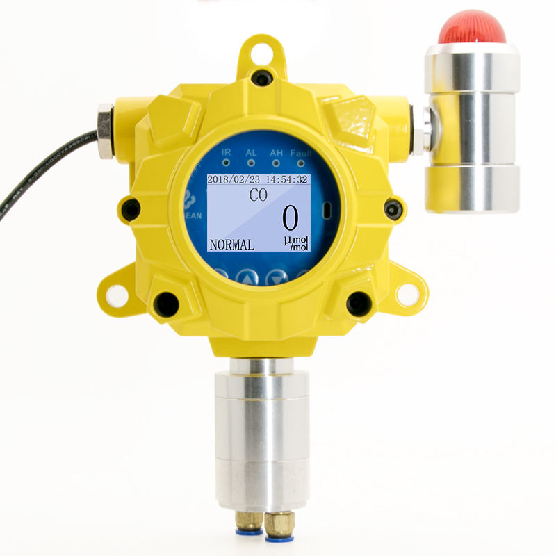Fixed gas detector with high accuracy | toxic gas H2S leak monitor
