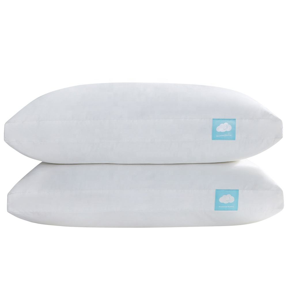 Hypoallergenic Soft Fluffy Height Adjustable Shredded memory foam pillow fiber polyester pillow with washed cotton pillow cover