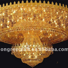 Hot Sale Crystal Ceiling Light Wedding For Hall Decorations