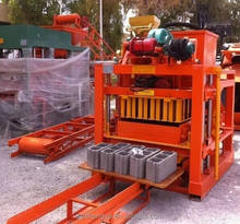 QTJ4-26C concrete/solid/cement/fly ash block making machine easy control