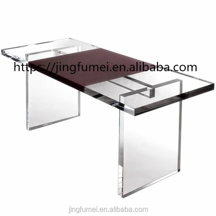 Luxury Lucite Acrylic 8 Seaters Dining Table
