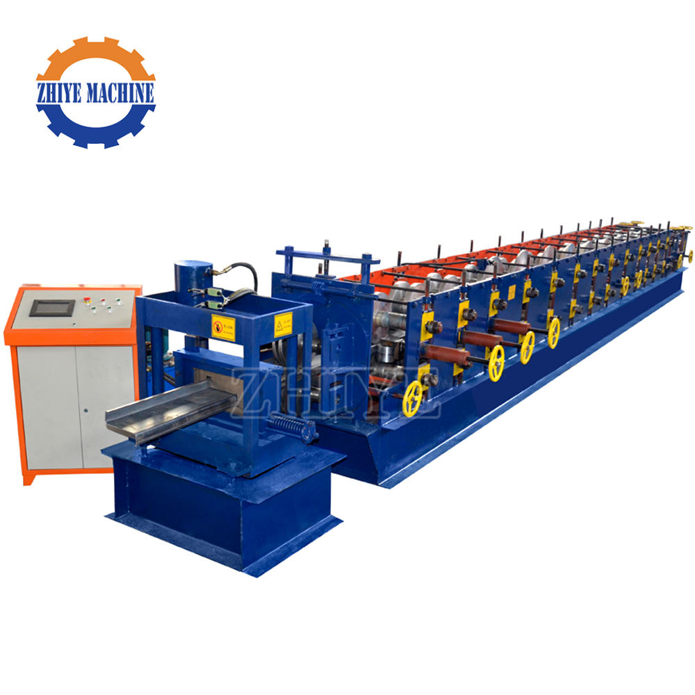 Used Z Shaped Steel Purlin Roller Forming Making Machine
