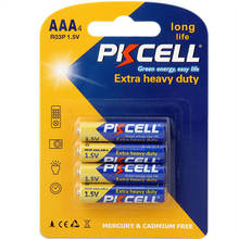PKCELL New Products 1.5 v R03P Dry Cell Battery 1.5v aaa um-4 Carbon Zinc Dry Battery