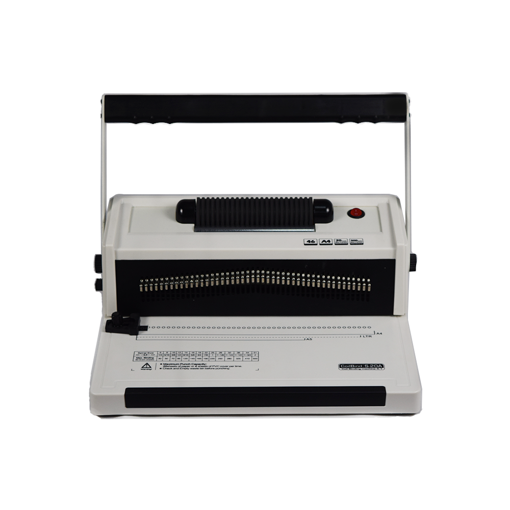Office Supply Coil Spiral Book Paper Binding Machine Price