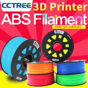 CCTREE 3D Printer ABS Filament 100% Geen Verstopping 100% Geen geur Beste Filament voor uw 3D Printer Fabriek Direct