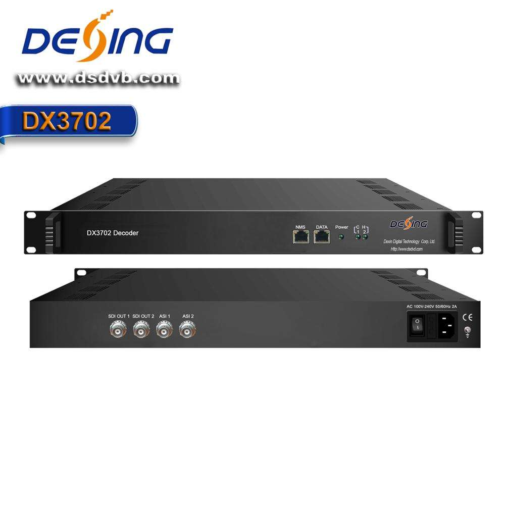 DX3702 IP/Asi Ke SDI HD Decoder