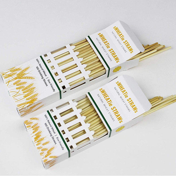 Have a natural aroma Degradable recovery all natural straw straw