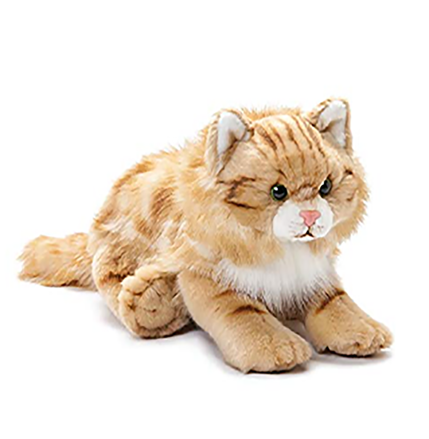 High Quality Made of soft velvet that does cat toy not hurt the skin of children stuffed animal cat plush toys