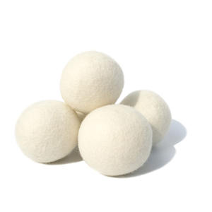 Eco-friendly organico lana di feltro di lana lavanderia dryer balls