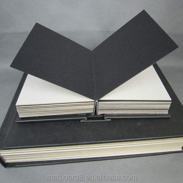 fancy wedding photo album cover leather frbric linen