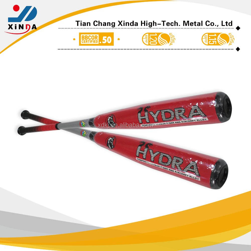 "33/ -3, 2 5/8"" dia. Customerized brand, bbcor certificated adult baseball bat"