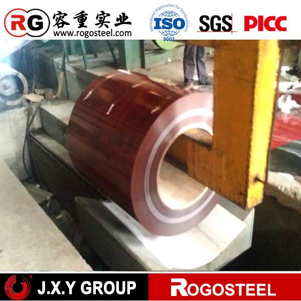 """Mode prepeint galvanise acier coilRal Couleur 0,5 mm D """"acier epaisseur Tole D"""" sont epaisseur 0,92 mm"""