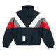 Popular splice windbreaker jacket men with plastic zipper for spring