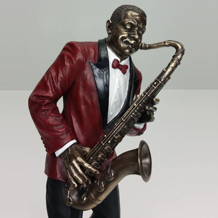 New design resin statue jazz