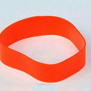 personalized Edge seal silicone rubber bracelets