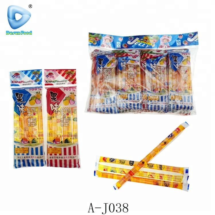 Low moq fruit Jelly stick candy