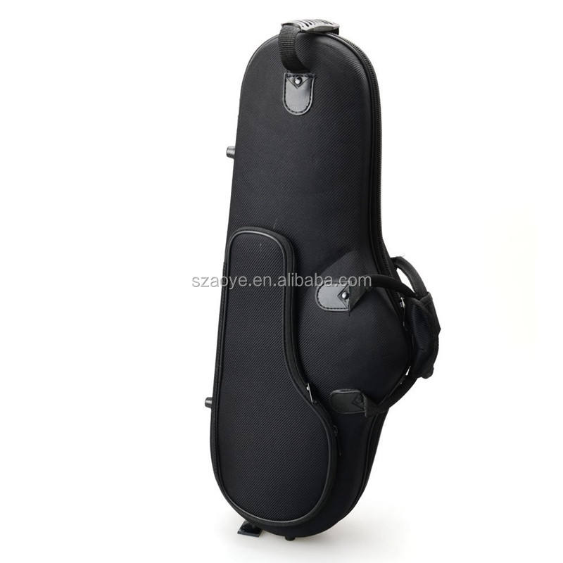 Manufacturer/factory/supplier custom High Grade Durable Cloth Saxophone Case Bag Black for Saxophones
