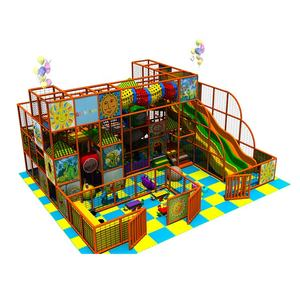 Hottest Indoor Playground  Children Happy Castle Play Party Center Equipment Play Zone kids indoor exercise playground equipment