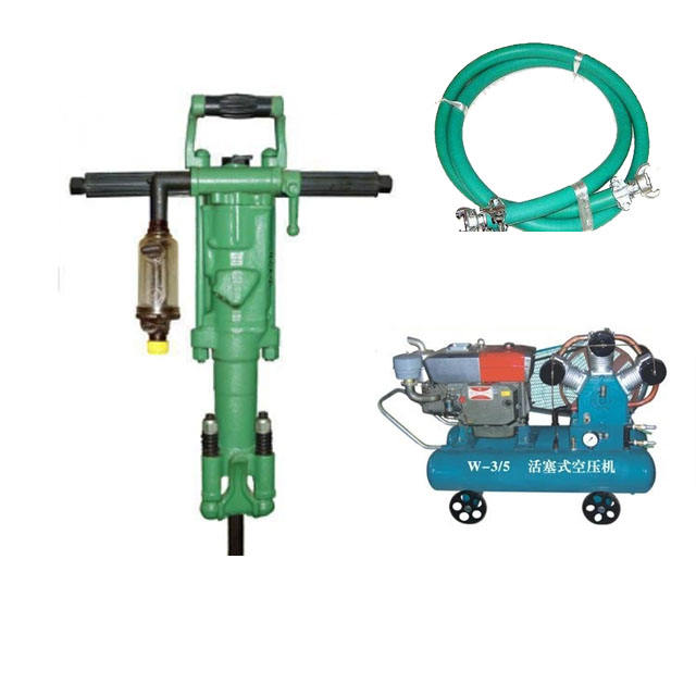 YO18 Hand-held pneumatic rock drill/Air leg rock drill jack hammer/rock drilling machine