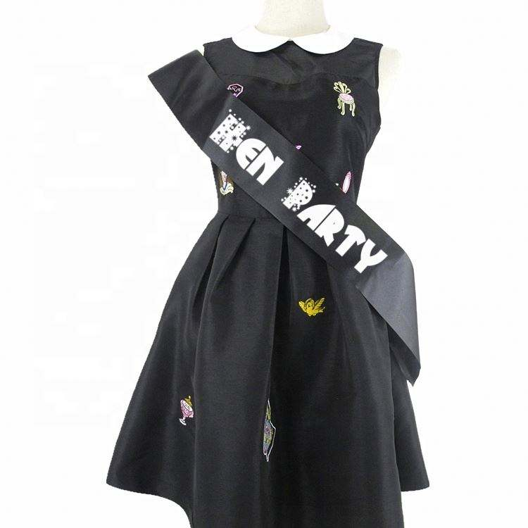Pageant And Graduation Sash,China Factory Price Hen Party And Bachelorette Sash