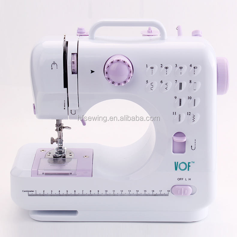 VOF FHSM-505 Mini Electric Manual Stitchine Household Sewing Machine