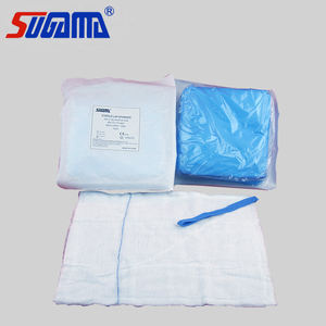 Sterile 100% cotton lap sponge for medical with high absorbency