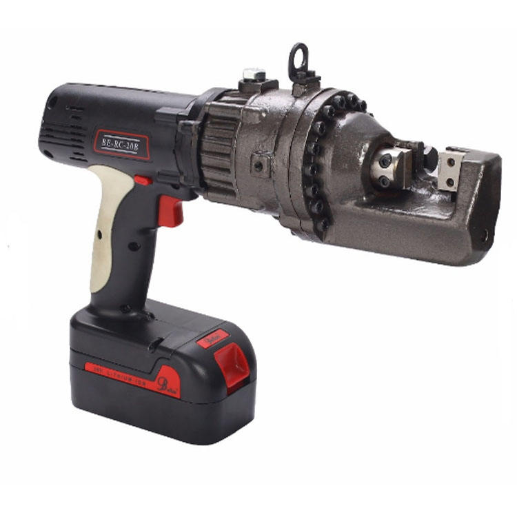 Cordless Battery rebar cutter high efficiency construction power tool