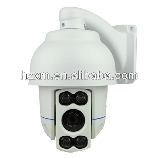 1920*1080 HD professional lens 6mm IR Middle Speed Dome Camera