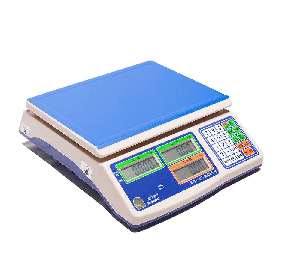 6kg, 15kg, 30kg Digital Weight Scale Price Computing Retail Food Meat Scales China Weight Scale