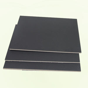 80gsm to 450gsm Laminated Black Cardboard Paper with Virgin Wood Pulp