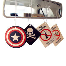 New Fashion Wholesale High Quality promotional reusable eco friendly custom paper hanging car air freshener