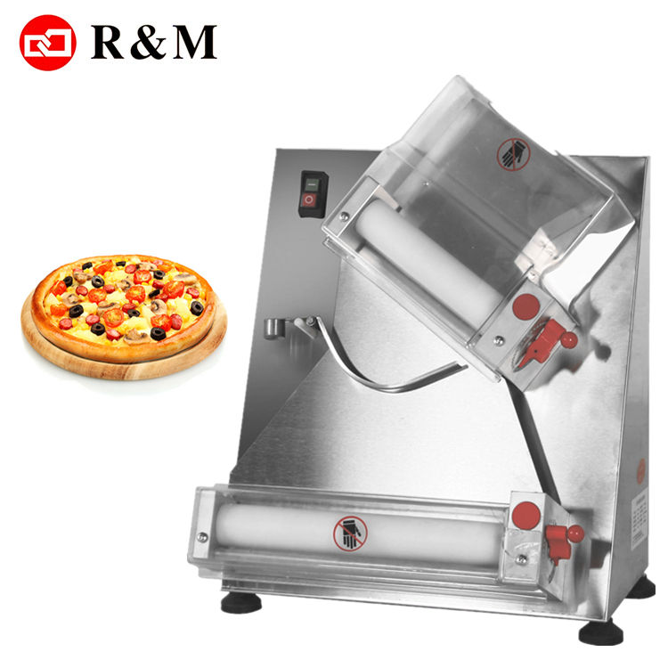 Deeg roller machin pizza base maken machine, automatische pizza deeg roller