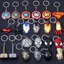 Free Sample movie Keychain Fast delivery Llaveros Marvel Keychains