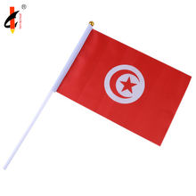 Wholesale 21*14cm Country and Customized Hand Waving Flag