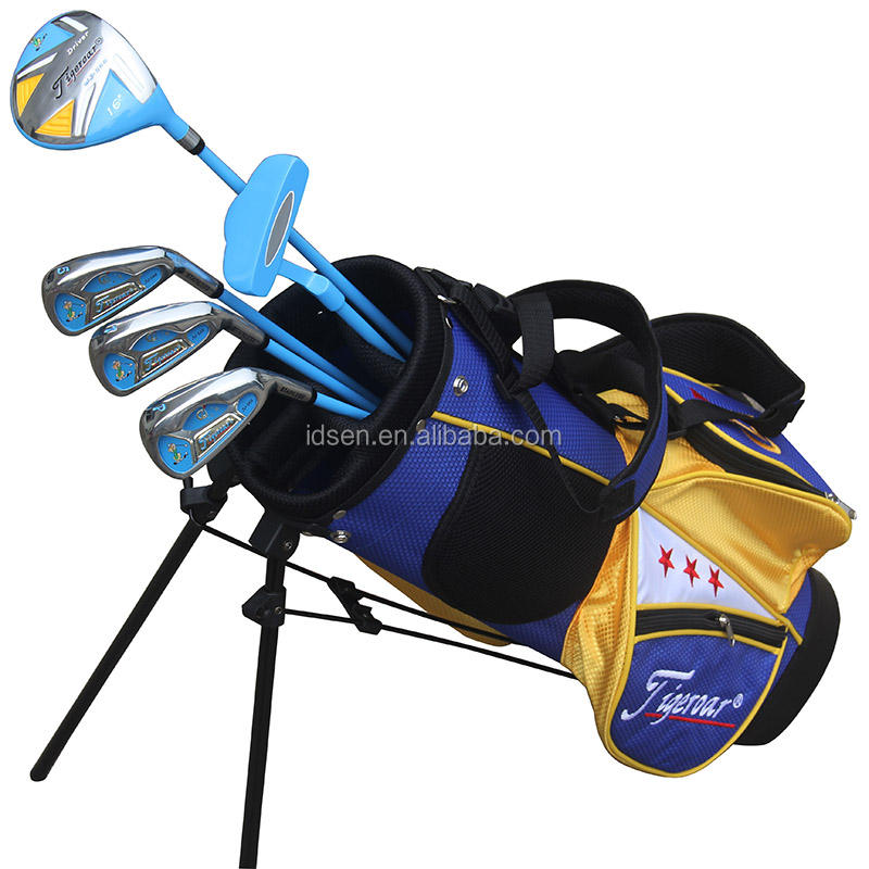2019 new Profession OEM Graphite Complete Junior children golf clubs set for kids with 5 pcs right or left golf clubs