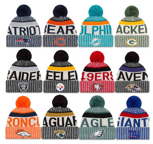 2020 knitted NFL beanies winter hats for 32 teams