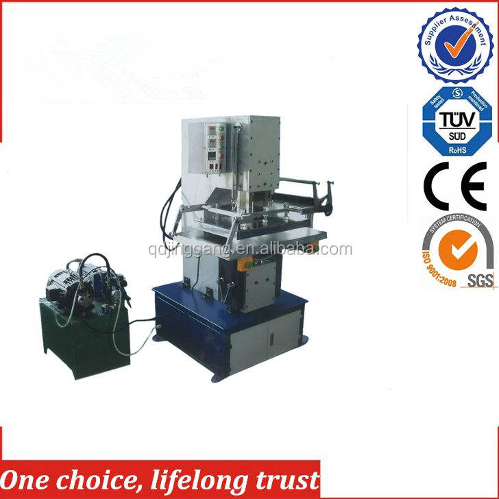 China hot sales TJ-57 double sided plastisol heat transfer printer hot foil stamping machine