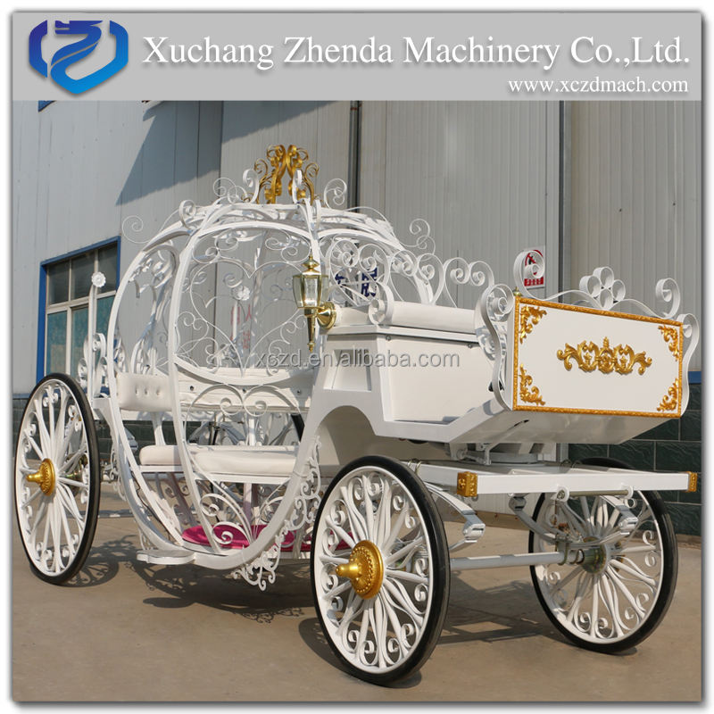 Top quality Cinderella Pumpkin used Horse Carriage for Sale Horse Carriage Manufacturer