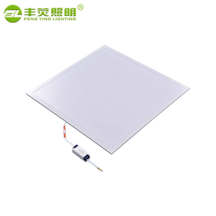 Kecerahan Tinggi SMD 36 W 42 W 48 W Ultra Slin Tipis 600 600 Mm LED Ceiling Panel Ringan