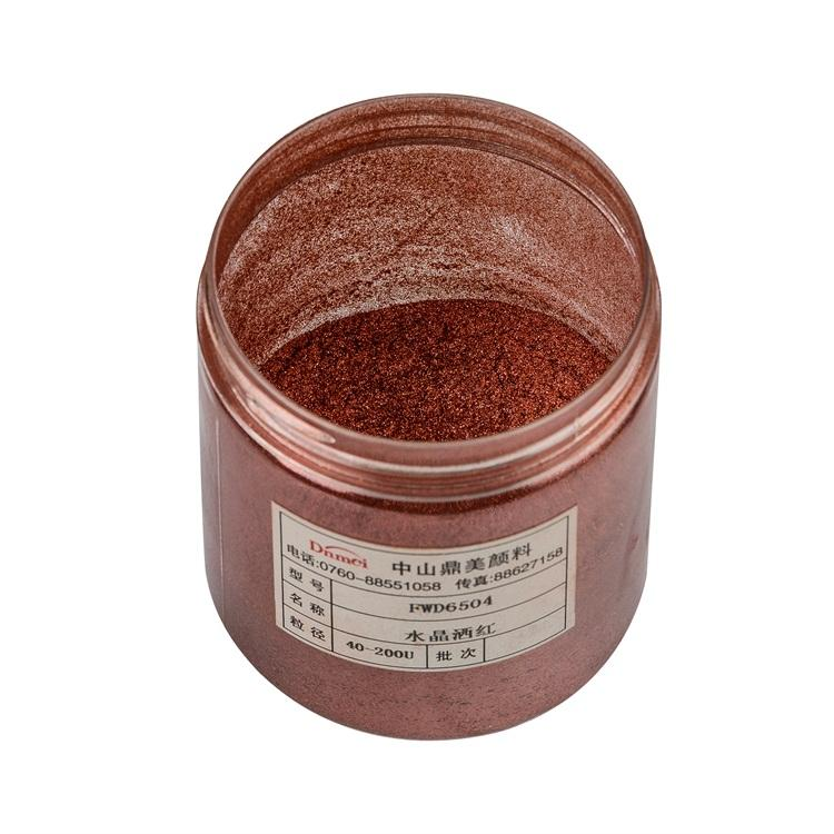 Crystal Wine Red Permanent Make Up Lipstick Pigment Powder