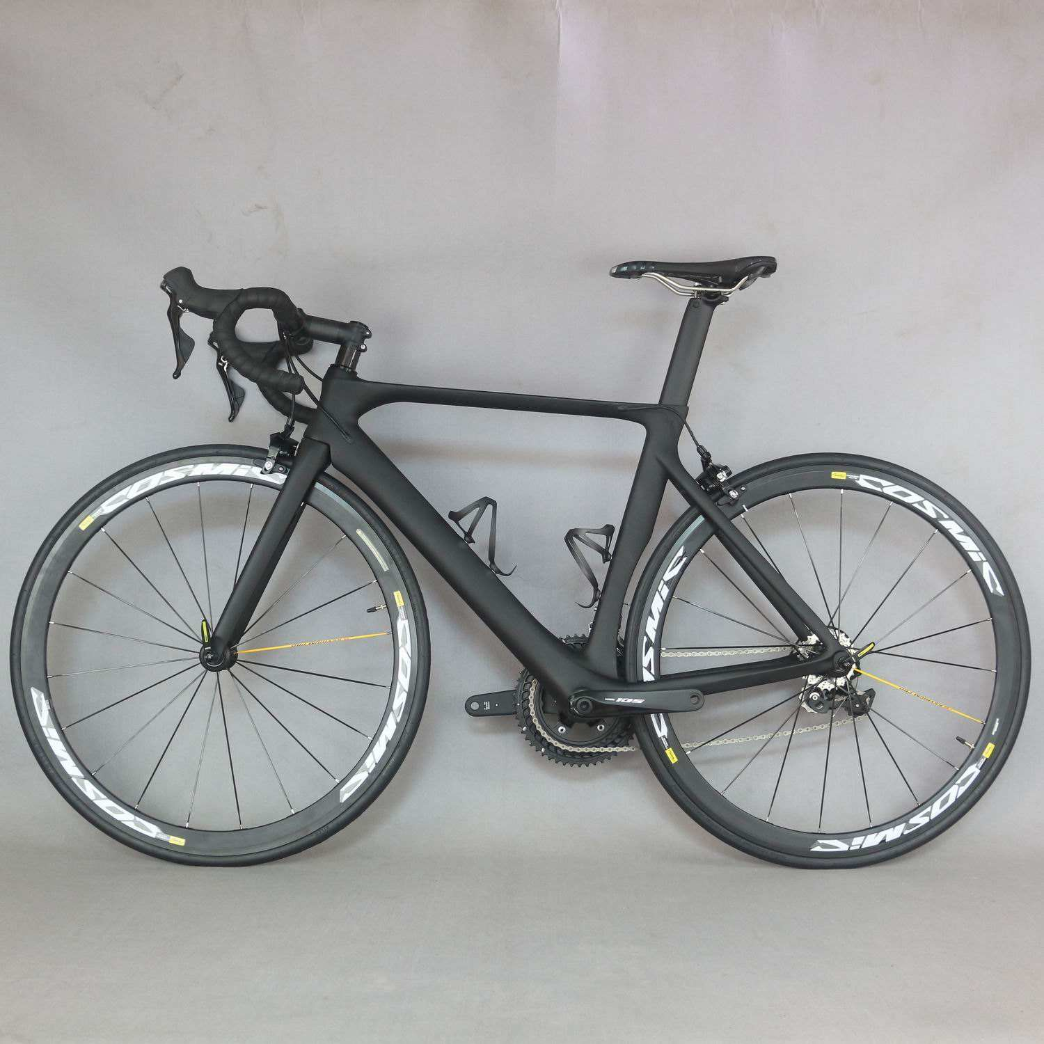 Carbon road bike FM286 Aero design frame complete carbon cycling 22 speed with Shimano R7000 groupset mavic wheels carbon bike